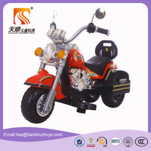 Red Color Kids Electric Motorcycle with 3 Wheels pictures & photos