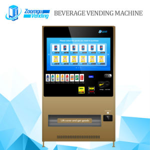 Touch Screen Vending Machine for Cold Beverage Zg-Mcs (43HP) pictures & photos