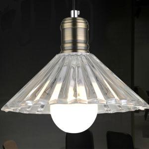 Mini Crystal Pendant Lamp Light with Antique Brozne Lampholder pictures & photos
