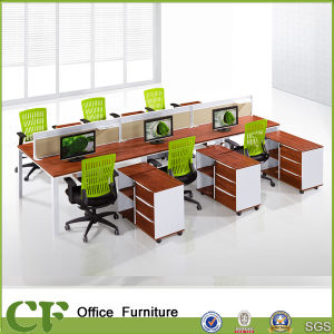 Wholesale Price of Melamine 6 Seats Clerk Workstation CF-P89903 pictures & photos
