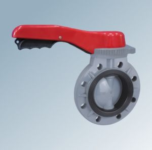 UPVC Hand Operation Butterfly Valve pictures & photos