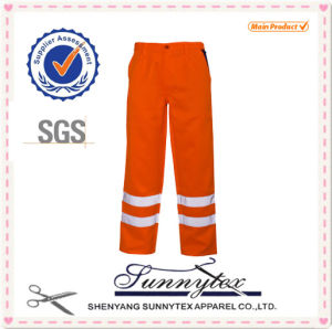 Sunnytex Hi-Vis Reflective Tape Safety Pants pictures & photos