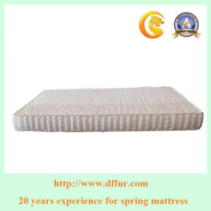 High Quality of Double Pillow Top Mattress Pocket Spring pictures & photos