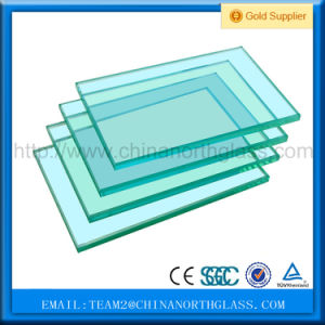 CCC/En12150/SGCC/Bsi/Csi Certificate Flat/Curved 8mm Clear Tempered Glass Factory pictures & photos