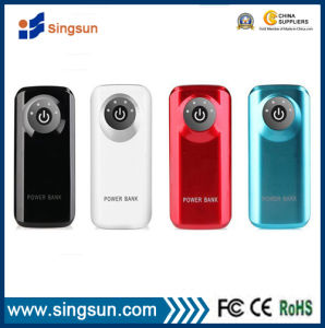 Factory Price 5600mAh Mobile Phone Charger Power Bank with Dual USB Output