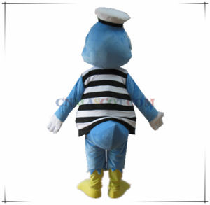 Handsome Duck Mascot in Navy Clothes pictures & photos