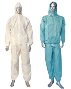 Custom Made PP Spunbonded Worksuits Type 5 6 Ce Certificate pictures & photos