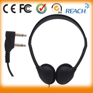 Factory Wholesale Disposable Head Phones Aircraft Headset pictures & photos