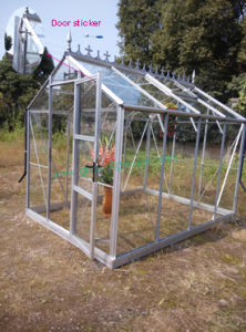 Beautiful Design& Heavy-Duty Construction Greenhouse -- GB with 4mm Toughed Glass pictures & photos