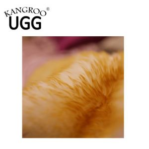 Genuine Australian Sheepskin Single Rug Pelt with Golden Tip pictures & photos