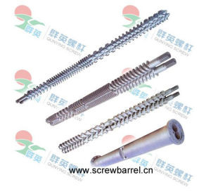 Extrusion Twin Screw Barrel with Bimetallic for Extruder Machines