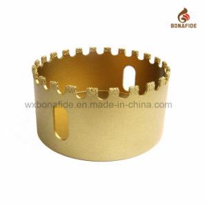 Vacuum Brazed Diamond Core Bits Crown Tooth pictures & photos