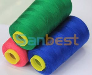 100% Colorful Tfo Spun Polyester Sewing Thread pictures & photos
