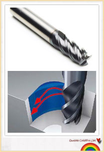 Cheap Price Carbide Square End Mills for Cutting Steel pictures & photos