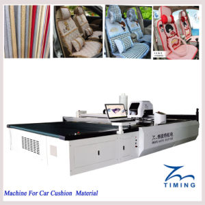 High Precision CNC Textile Cutter Machine with High Speed Spindle Motor pictures & photos