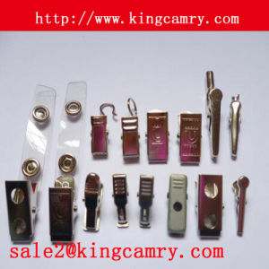 Badge Clip and Matal Badge Clips for ID Card Holder pictures & photos