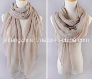 100%Polyester 50*50s Voile Fabric for Scarf