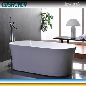 China Custom Size Movable Bathtub Ew6809 China Movable