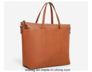 Stitching Tote Handbag High Capacity Shopping Lady Bag pictures & photos