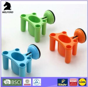 Plastic Suction Hook Tooth Brush Holder pictures & photos