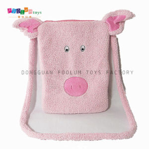 Fashion Plush Pig Face Notebook PC Bag Manufacturer for iPad Bag