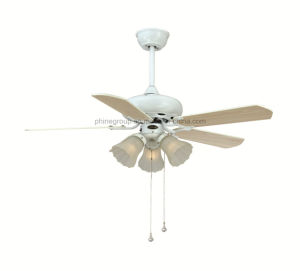 Phine Ceiling Fan Lamp with E26/E27 Lamp Holder pictures & photos