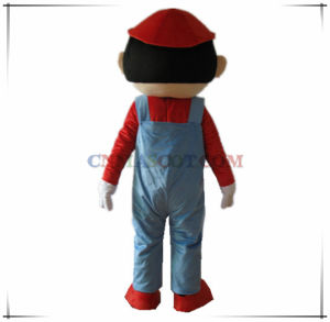 Mario Mascot Costume Cartoon Character Costume Good Price pictures & photos