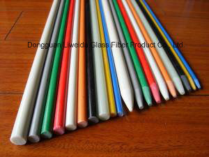 Acid and Alkali Resistant Fiberglass FRP Rods with Good Flexibility