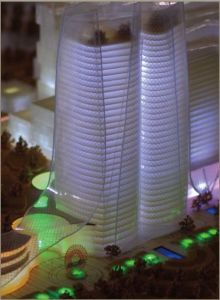 Architectural Scale Model Builder_Commercial Tower Model (JW-193) pictures & photos