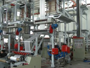 Fully Automatic Plastic Film Blowing Machine for Mixing Material (Chsj-45/50q) pictures & photos