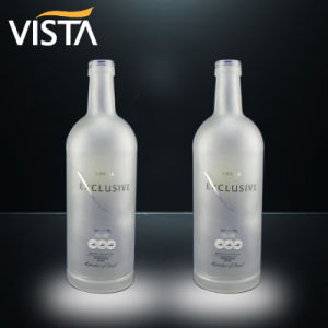 1750ml Frosted Large Spirit Bottle pictures & photos
