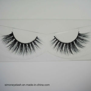 Siberian Mink Hair Lashes 3D Real Mink Fur Strip Eyelashes pictures & photos