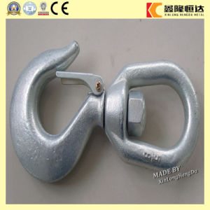 G80 Alloy Steel Eye Hoist Hook pictures & photos