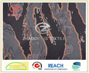 240t Poly Pongee Volcanic Rock Style Printing Fabric (ZCBP106)