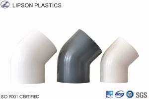 45 Deg Elbow PVC Fittings for Pressure Application pictures & photos