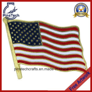 Flag Lapel Pin, High Quality Pins, Free Artwork Available pictures & photos