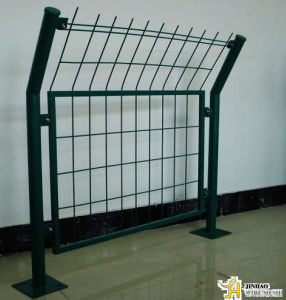 PVC Coated Frame Fence-ISO9001: 2008factory (JH-045)
