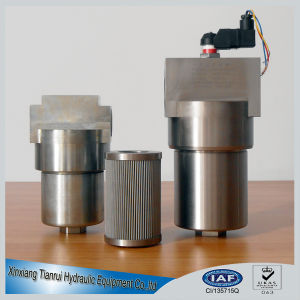 High Pressure Stainless Steel Hydraulic Filter Housing pictures & photos