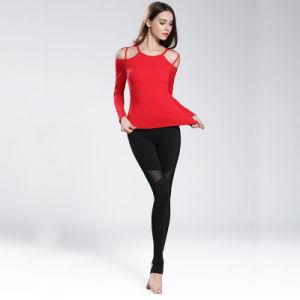 High Elastane Women Yoga Pant Women Legging Gym Wear Manufacturer pictures & photos