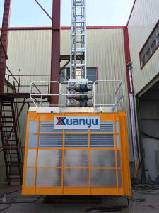 Xmt Single /Twin Cage Engineering Construction Material and Passenger Machinery pictures & photos