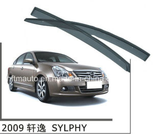Window Visor for Nissan 2009  Sylphy Car Window Weather Guards pictures & photos