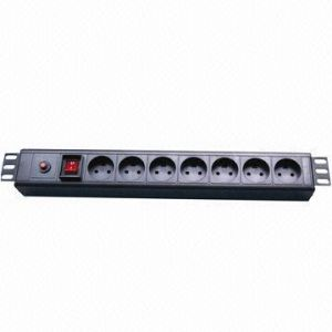 Denmark Plug Socket 7-Way PDU pictures & photos