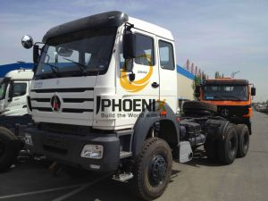 Beiben Truck (North Benz) 420HP Tractor Head/Trailer Truck with Mercede Benz Technology pictures & photos