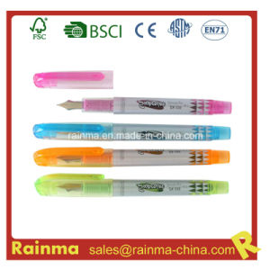 Color Plastic Fountain Pen with Nice Design pictures & photos