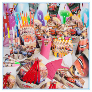 Food Grade Party Products Cars Theme Children Birthday Decoration Adornment Baby Birthday Party Supplies for 6 Person pictures & photos