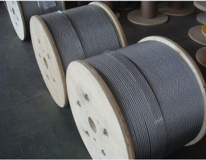 Steel Wire Rope 6X19 with Steel Core pictures & photos