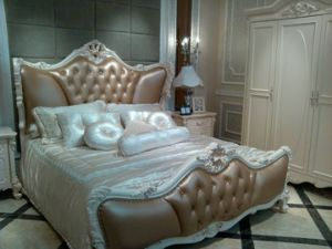 Lh201b Leather Bed