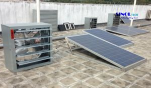24 Volt 300W Industrial Use Large-Scale Solar Powered Ventilation System for Building with  Dia. 950mm Fan Blade  (SN2013021) pictures & photos