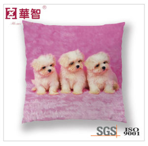 Dog Printed Cushion, Bed Decorative Square Pillow pictures & photos