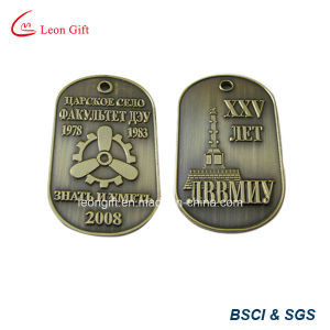 Embossed 3D Design Bronze Color Dog Tag Custom pictures & photos
